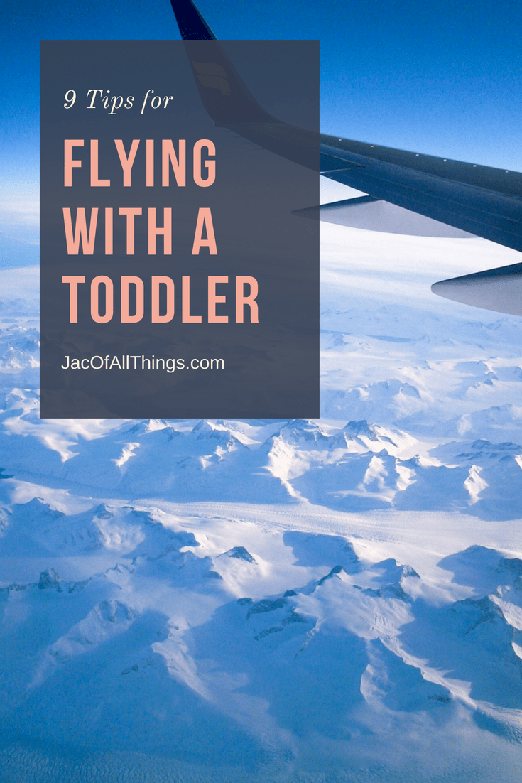 Don't let flying with a toddler be stressful! Read these tips on how to make flying with young children easier! Learn how to keep them occupied and simple tips for what to bring on the plane.
