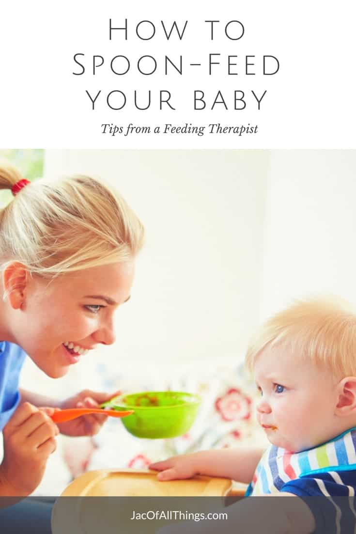 There is a right way and a wrong way to spoon-feed your baby. Learn tips from Drake Hastings, an oral motor and feeding therapist on how to spoon-feed your infant solids for the first time. Everything you need to know on how to feed your baby.