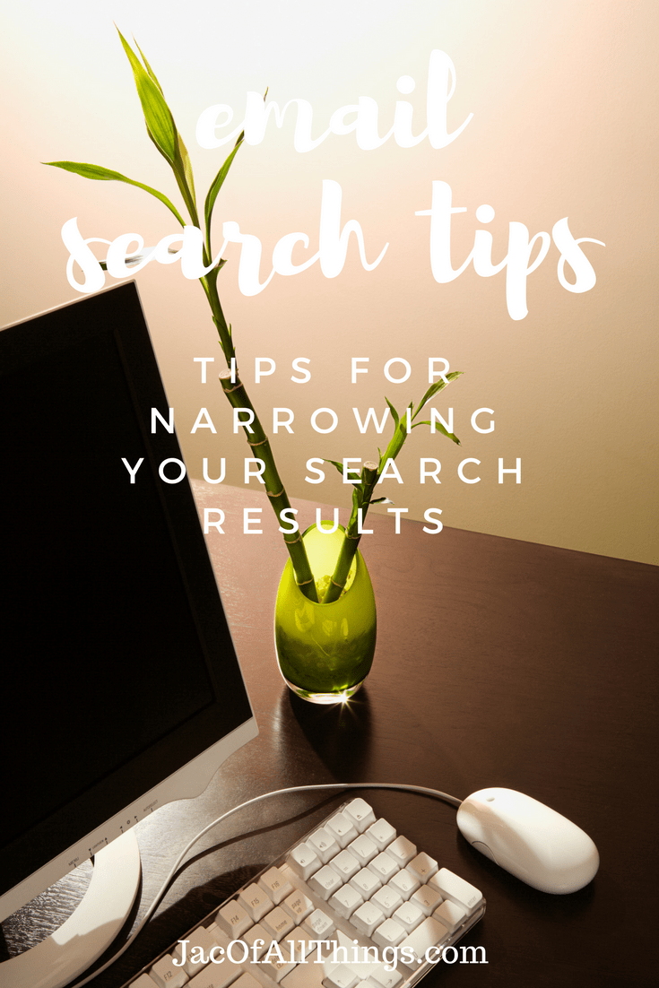 How to search for emails and narrow your search when basic email search isn't enough.