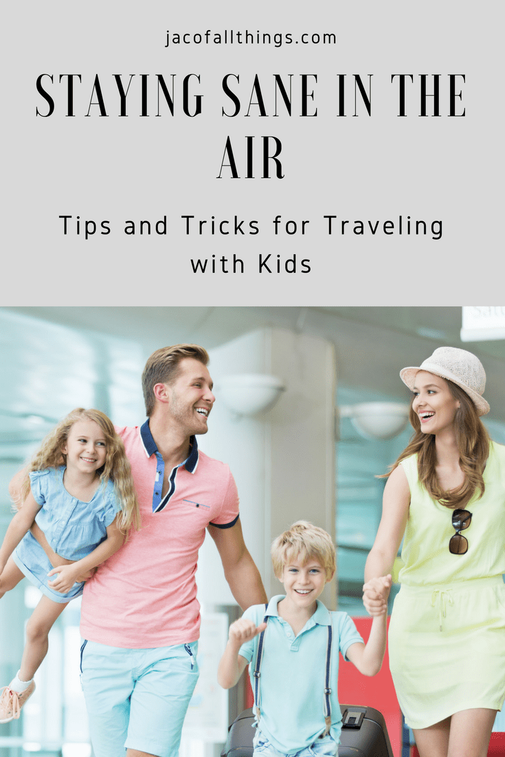 Are you flying with kids for the first time? Read more for tips for flying with kids and how you can stay sane while in the air. Flying with babies, infants, toddlers, and older children can be overwhelming, but there are plenty of hacks and travel tips to survive your air travel, and maybe even enjoy it!