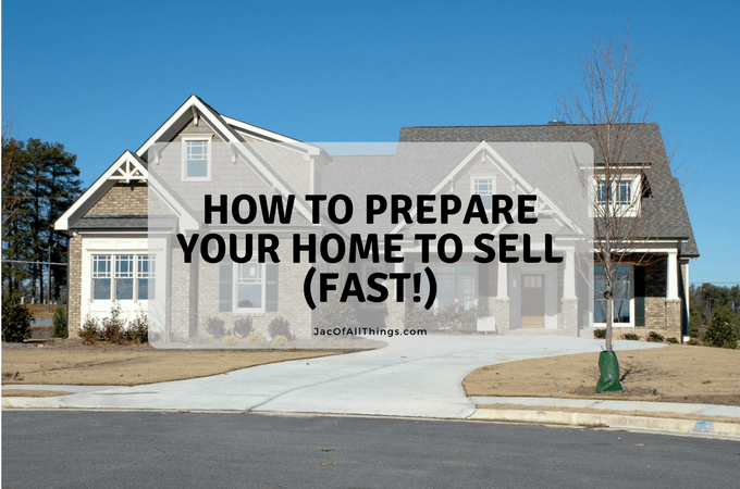 The complete guide to sell your home fast with free printable checklist. Get your house ready to sell fast! Tips and tricks to stage your house, things to do before you sell your house, what to do when you have a house showing, and how to find and choose a realtor.