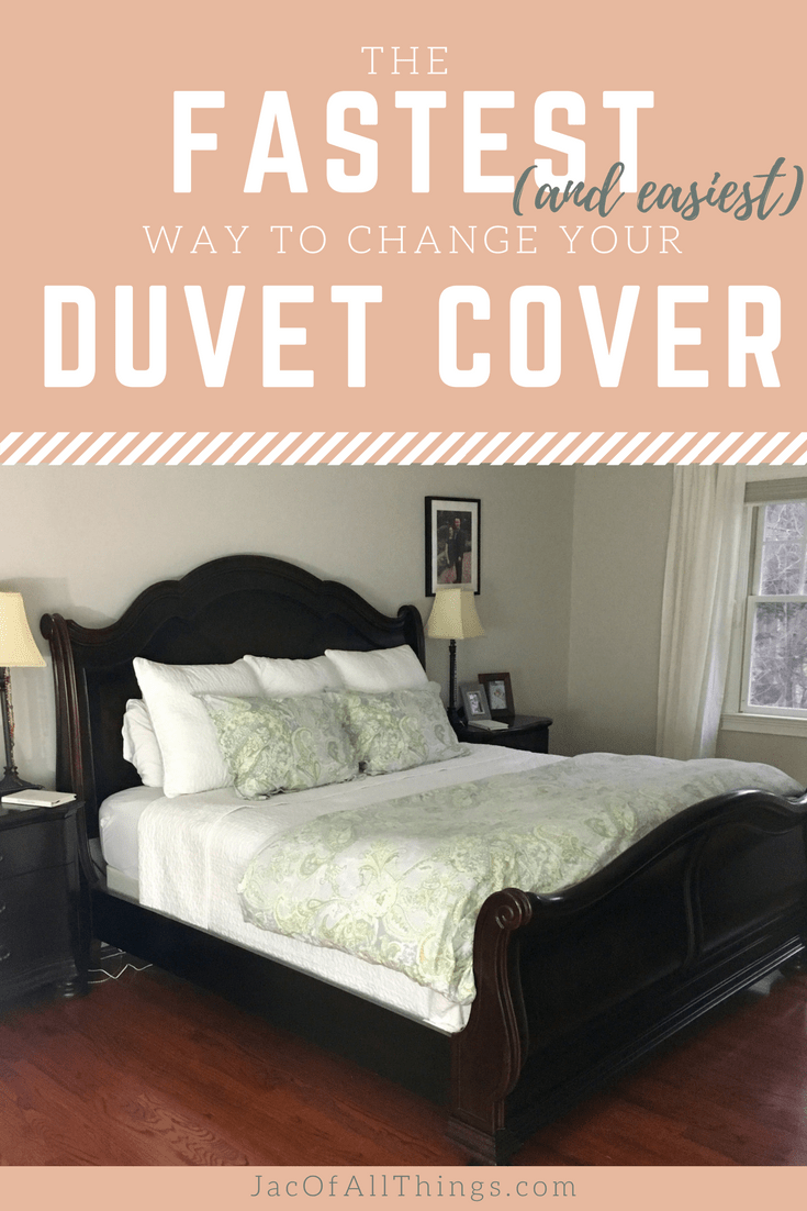Learn how to change a duvet cover in under two minutes. Read more on this easy trick to put on a duvet cover and comforter and watch a video of this hack in action. Simple and ingenious!