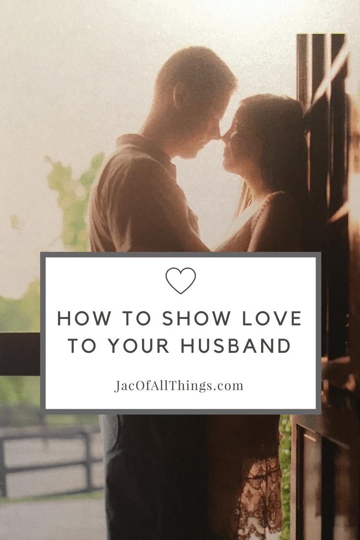 Are you looking for new ways to show love to your husband? It's easy to say I love you, but why not show him how much you care about him. Read on for my favorite ways to show love to the special man in my life. Ideas to strengthen your marriage and be the best husband and wife!