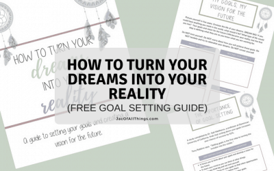 Goal Setting Worksheets – How to Turn Your Dreams Into Your Reality (Free Printable)