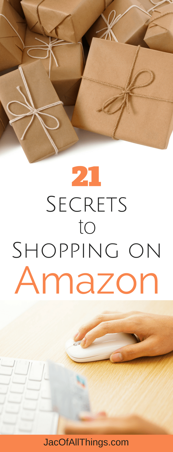 Read the top secrets to shopping on Amazon. Including tips, hacks, and deals to getting the best deals, prices, and discounts. The ultimate guide to shopping on Amazon, filled with money saving tips and shopping tricks that are quick and easy!