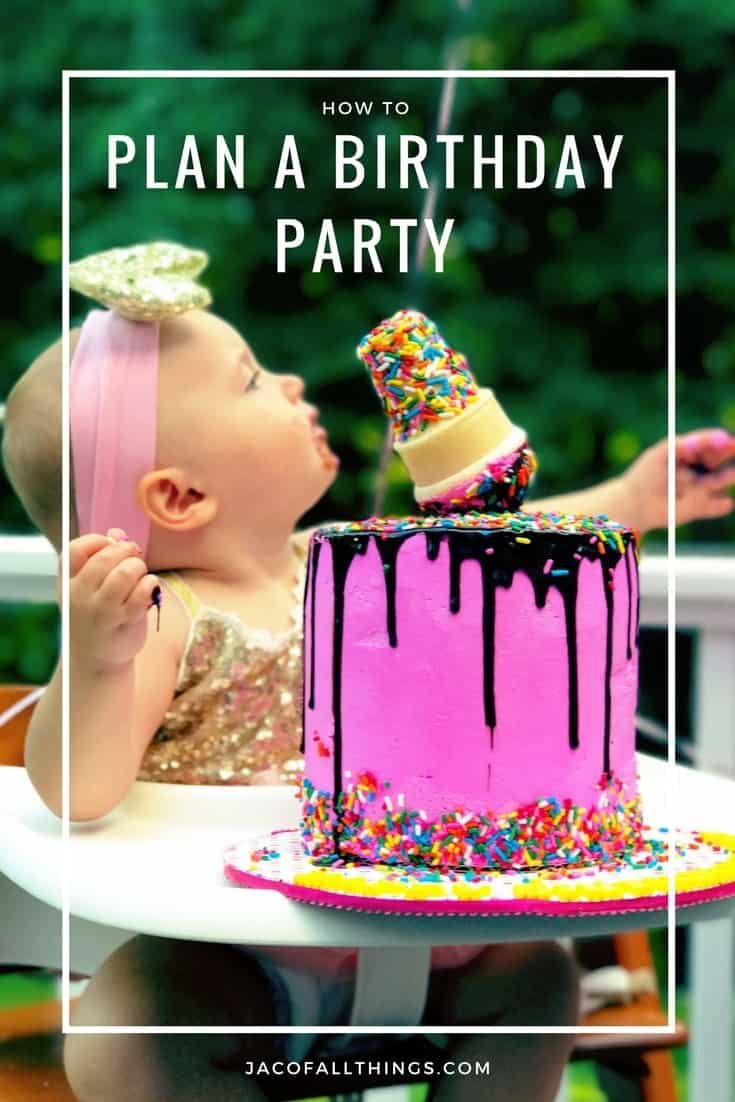 Wondering how to plan the perfect birthday party? Read this complete party planning guide that will walk you through everything you need to know to plan the perfect birthday party for children or adults. (Perfect for planners!) Complete with a free printable checklist to keep the planning process as stress-free as possible. This ultimate guide goes over party planning tips, party planning timeline, supplies, and even what you need to do after a party!