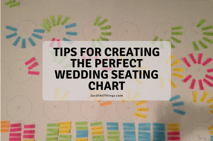 Tips for Creating the Perfect Wedding Seating Chart