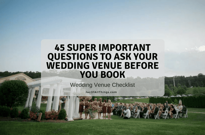 photo regarding Questions to Ask Wedding Venue Printable known as 45 Tremendous Crucial Issues in direction of Talk to Your Wedding day Location