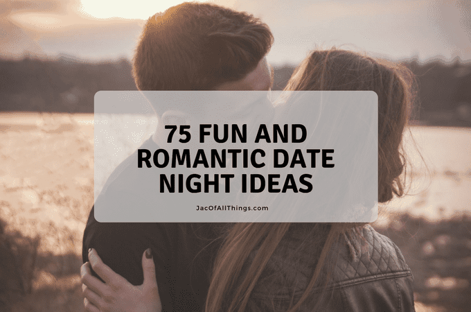 Want to plan a romantic and fun date but not sure what to do? Read on for the ultimate list of unique and creative date night ideas! This is perfect for married couples, new couples, group dates with friends, or even your first date as a new couple! There are ideas for every budget, including cheap and inexpensive or no-spend dates. Perfect for every season (summer, fall, winter, spring) and ideas for both inside and outside.