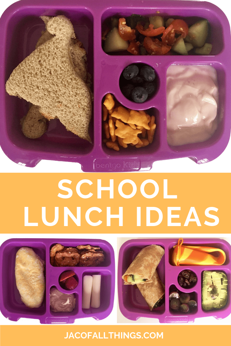 Tons of school lunch ideas! Perfect for the picky child! Includes lots of healthy options for children and toddlers as well for school. Just what you need for back to school lunches! #schoollunch #backtoschool #lunchideas