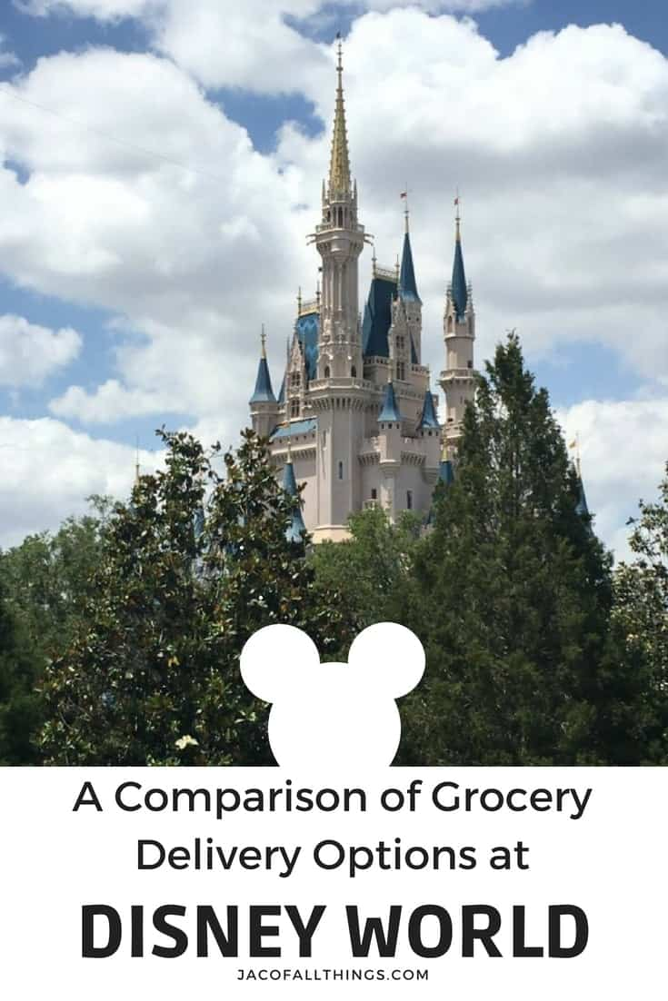 A comparison of the companies that offer grocery delivery to Disney World, including: Amazon Prime Now, Garden Grocer, Instacart, WeGoShip, and Shipt. Ordering groceries to your resort at Disney World is one of the easiest ways to save money on a Disney World vacation! Learn all the options available to you to order food to your room and the pros and cons to each option! All the tips you need to order groceries to your room and save money! #disney #disneyworld #tips