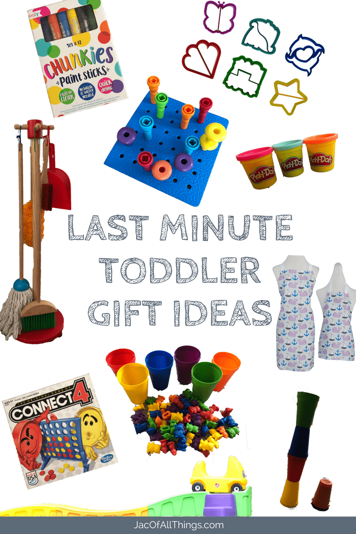 Are you looking for a last minute gift for a toddler? Stuggling with what to get as a present that will be a bit hit and loved by both the child and adult? This list of 15 tried and true gift ideas will help! And best of all, you can order all online to receive within 2 days! The best gift guide for children ages 2 - 4.
