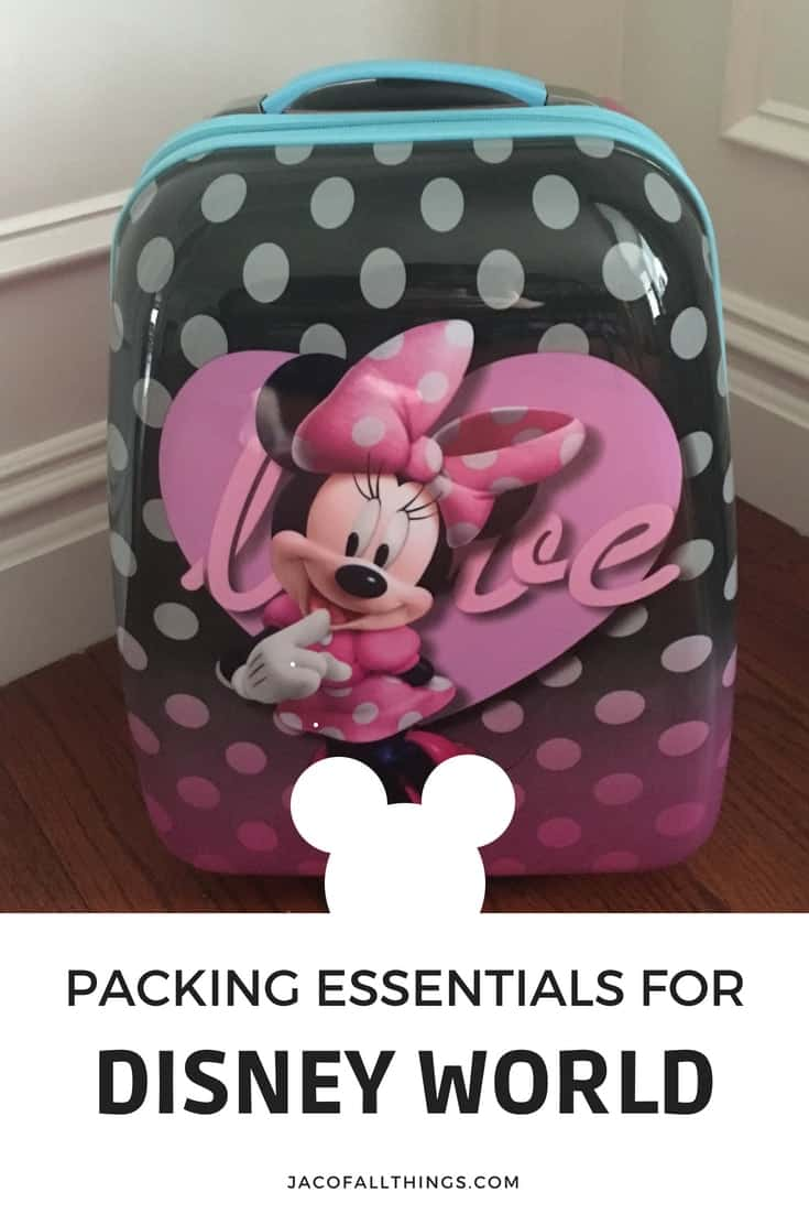 Learn what to pack in your suitcase for the whole family for your Disney World vacation! A list of the must-have items that you don't want to forget while traveling. Contains must-have items for babies, toddlers, kids, and adults so you can enjoy your trip and not worry about forgetting something at home. All your packing essentials for your trip to Disney World! #packingtips #disney #disneyworld