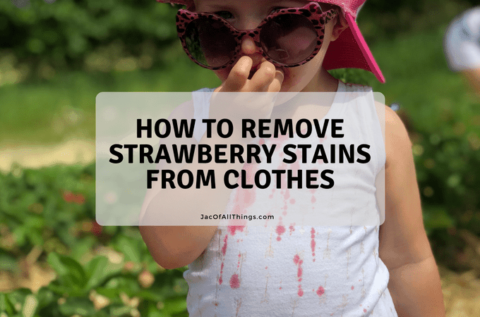 Strawberry Stain Removal