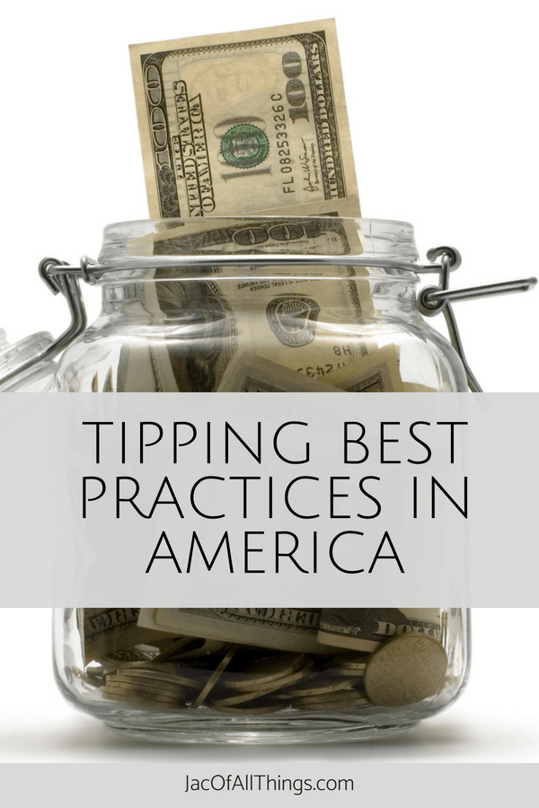 "Do you ever ask yourself ""How much should I tip""? Tipping can be confusing. Read these tipping guidelines for best practices to tipping in America for travel, restaurants, hotels, hair and beauty services, and more! #practicaladvice #tipping"