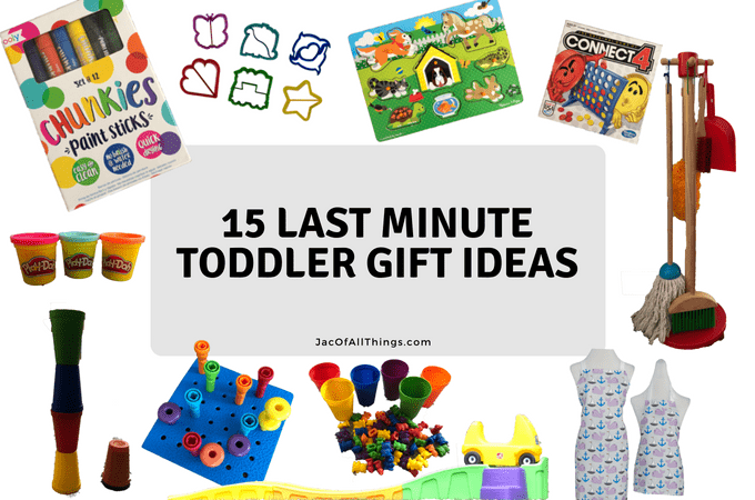 15 Last Minute Gifts for Toddlers