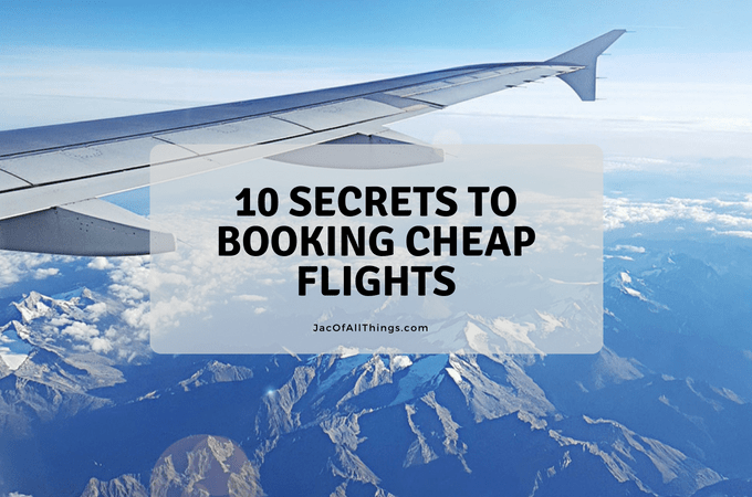 10 Secrets to Booking Cheap Flights