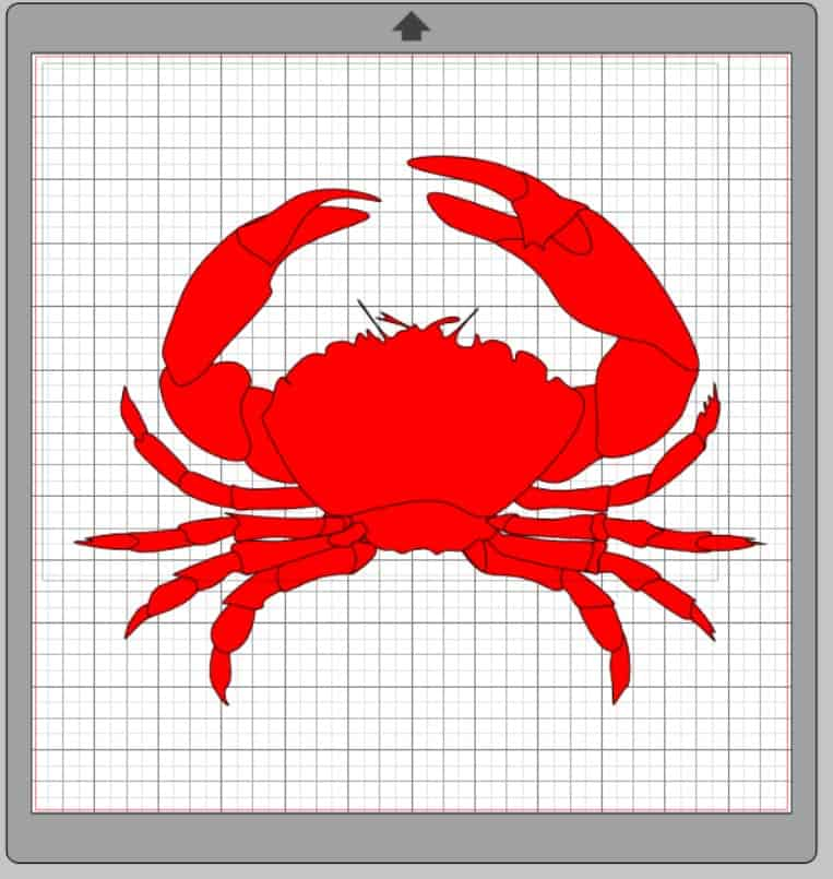 Learn how to make Disney inspired shirts with a Silhouette Cameo. This step by step tutorial will walk you through making a cute, unique and custom shirt for Disney. This image shows you an alternative crab to choose for your shirt.