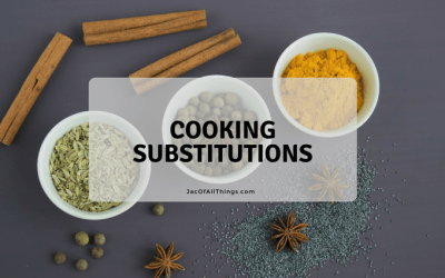 Cooking Substitutions