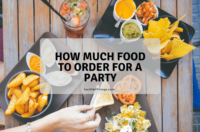 Are you having a party and need to calculate how much food to order? Read these guidelines for ordering food for a crowd.