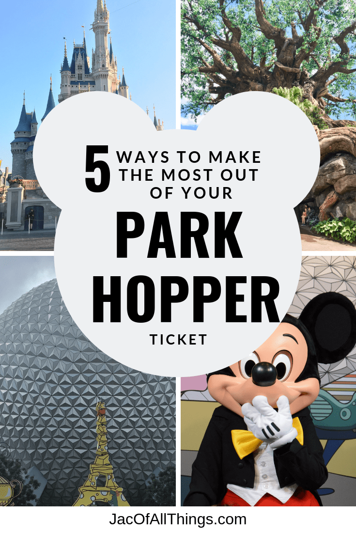 Read these Park Hopper Disney tips to get the most out of your park hopper ticket at Disney World. #disney #disneyworld #parkhopper