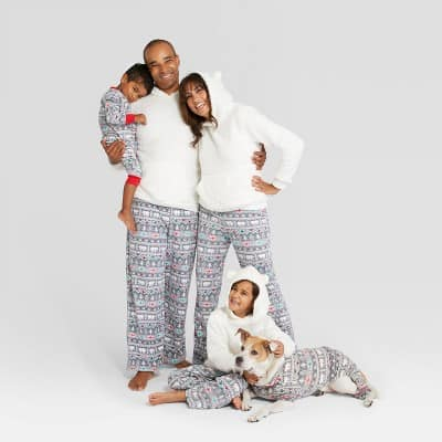 Fuzzy Bear Family Matching Christmas Pajamas Target