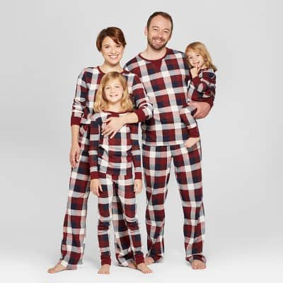 Red Plaid Family Matching Christmas Pajamas Target