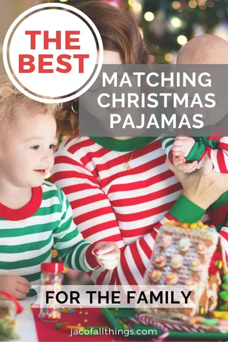 The Best Family Matching Christmas Pajamas for 2019! Check out these super cute pjs to match with your family this Christmas