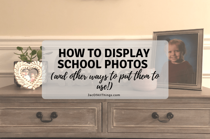 How to Display School Photos (and other ways to put them to use!)