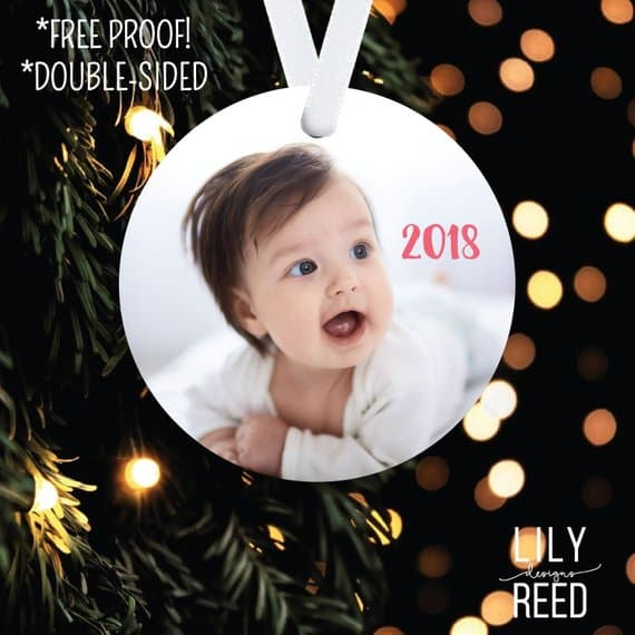 photo ornament from lilyreed