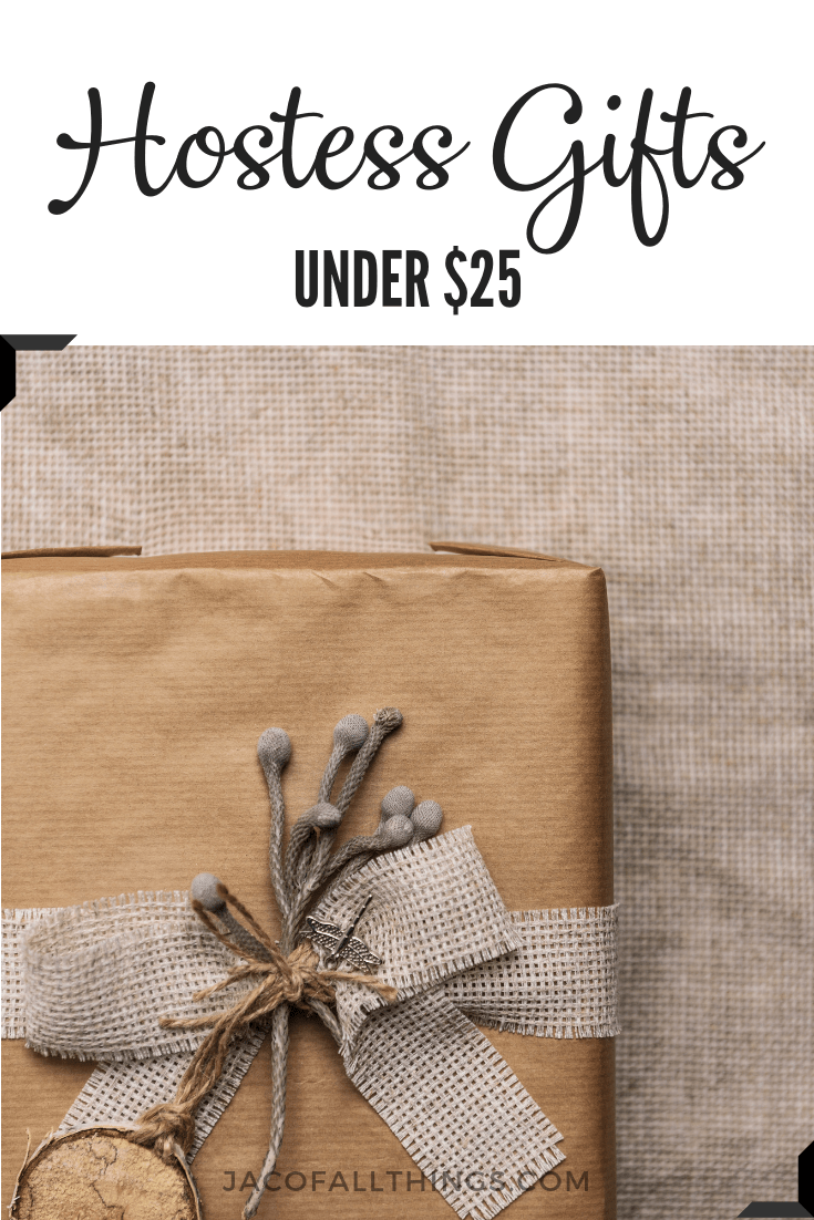 Find the perfect gift to give to your hostess for your holiday party. Whether it's for Thanksgiving, Christmas, or an everyday party, we've got you covered with gifts under $25.