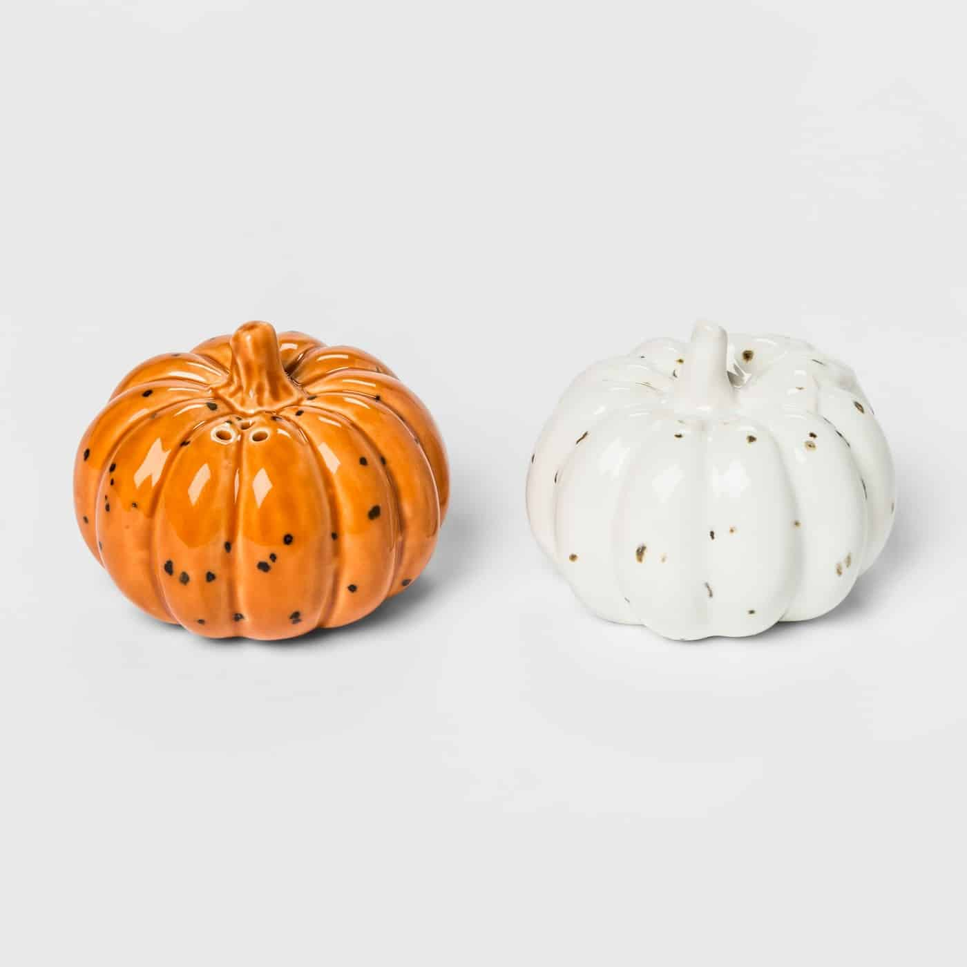 Target Fall Themed Salt and Pepper Shakers Thanksgiving Hostess Gift