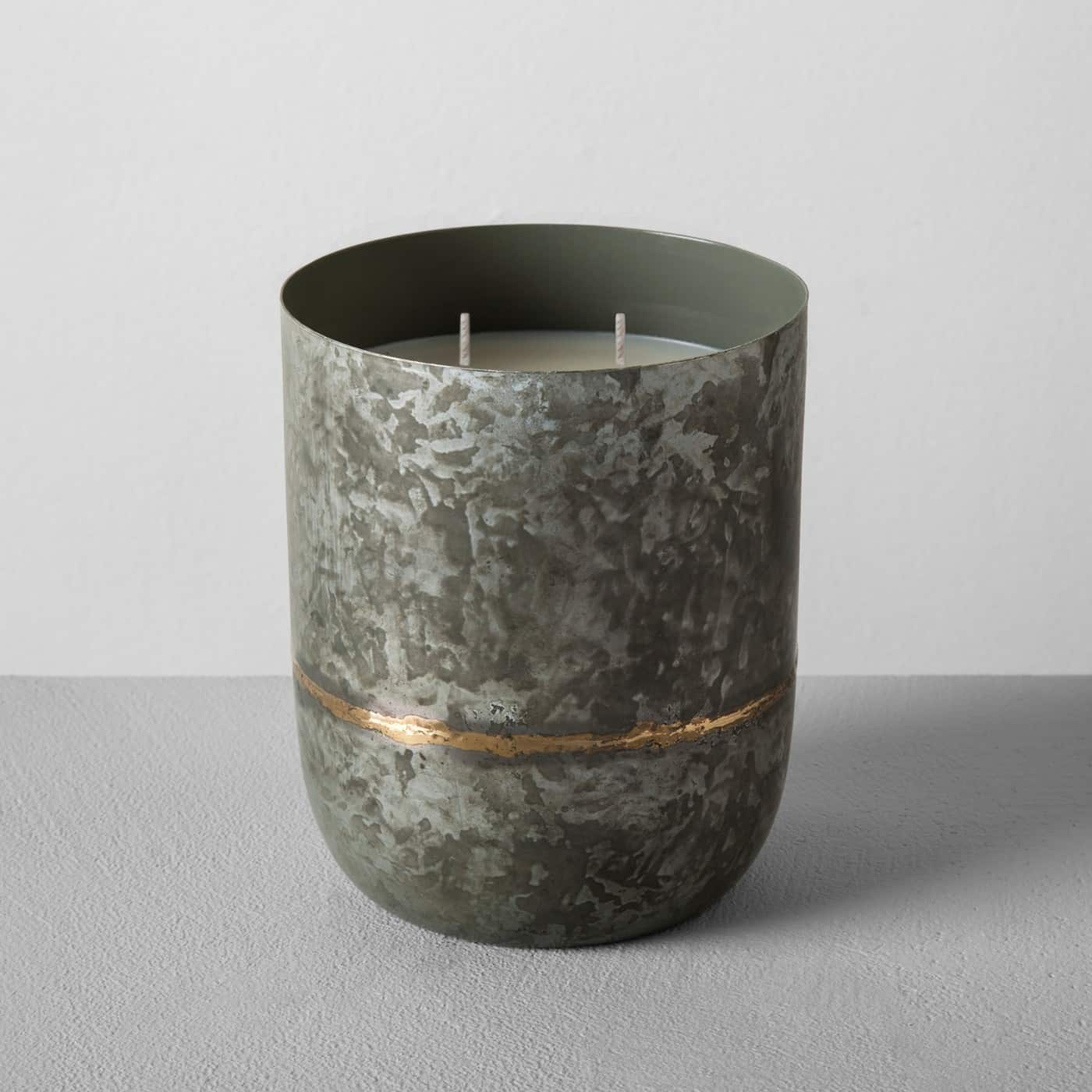 Target Galvanized Container Candle Hostess Gift
