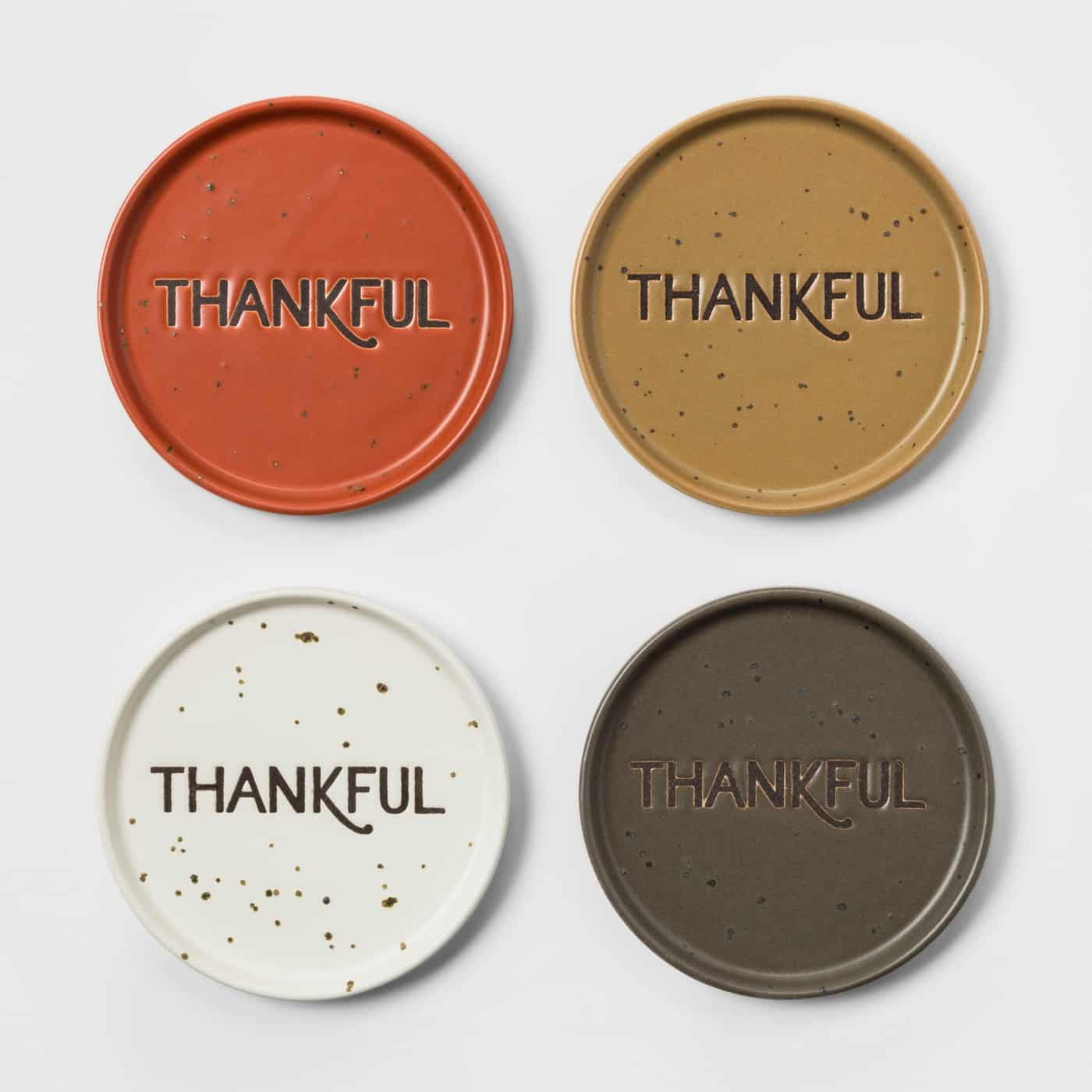 Target Thankful Coasters Thanksgiving Hostess Gift