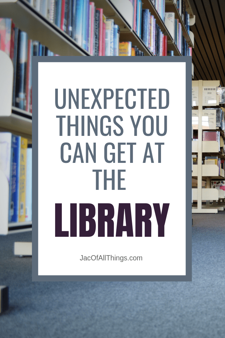 You can get a lot more than just books from your local library. Learn how you can maximize your library benefits and all the crazy, and unexpected things your library may offer. #usefultip #lifehack #everydayadvice #library