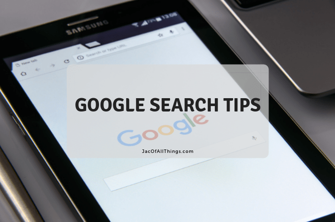 Google Search Tips to Make Your Life Easier