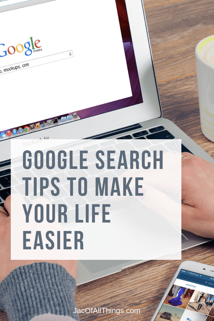 hat there are easy and simple Google search tips that can help you get the information you need right away? Use these Google search tips to save time and get the results you are looking for the first time. #technologytip