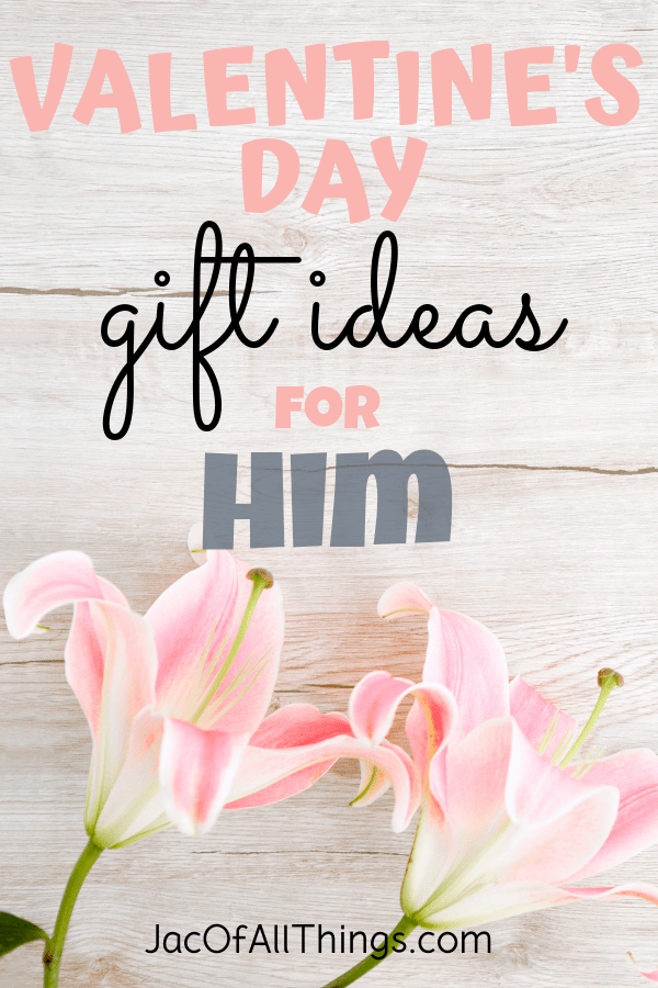 Finally, the perfect list of Valentines Day gifts for him! Created with the help of a man to get him what he really wants! Read this list of unique, creative, and romantic gift ideas for your husband, boyfriend, or special man in your life. #valentinesday #valentinesdaygifts