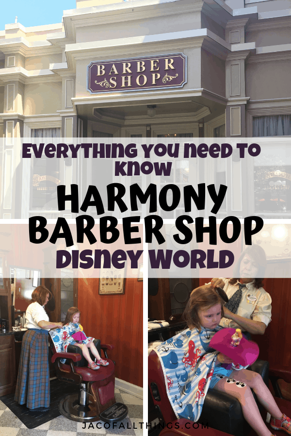 Everything you need to know about Harmony Barber Shop at Disney World