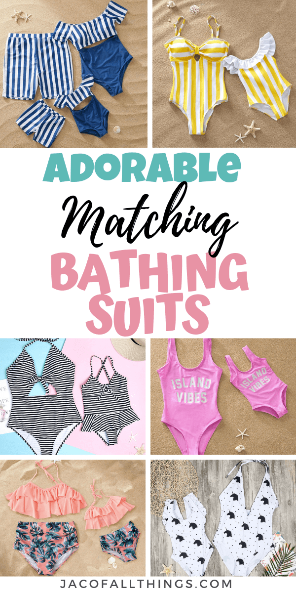 Matching Bathing Suits for Mommy and Me (1)