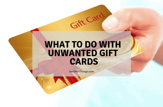 5 Things to Do with Unwanted Gift Cards