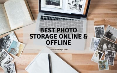 Best Photo Storage Online and Offline