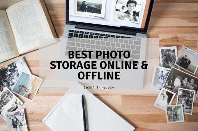 Best photo storage online and offline