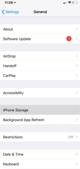 How to check your iPhone storage in settings part 2