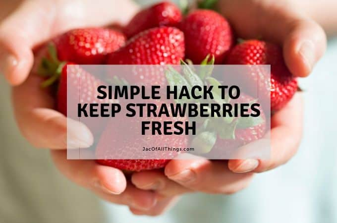 Simple Hack to Keep Strawberries Fresh (for up to 2 weeks!)
