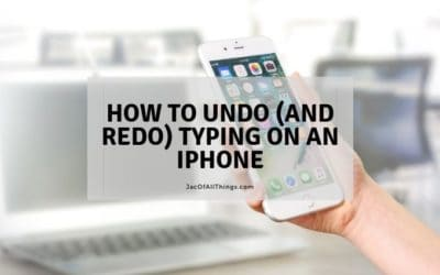 How to Undo (and Redo) Typing on Your iPhone – Tech Hack!