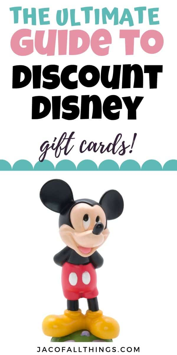 The ultimate guide to discount Disney gift cards