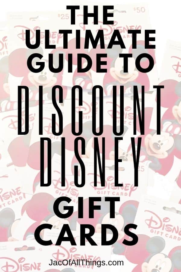 Ultimate guide to Discount Disney Gift Cards