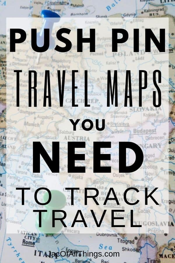push pin travel maps you need to track travel