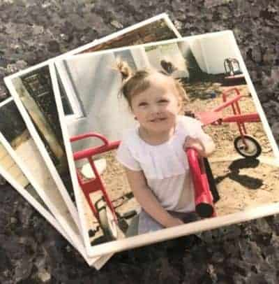 DIY Photo Coasters from Tiles